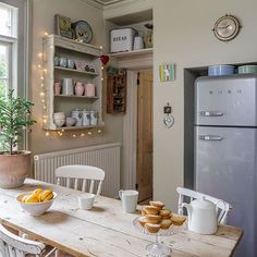 Cream farmhouse country kitchen-diner | Kitchen decorating | Style at Home | Housetohome.co.uk