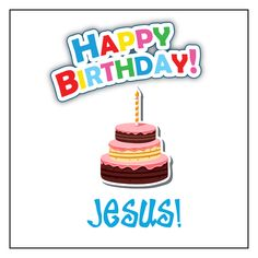 """Now available on our store  """"Happy Birthday J... Check it out here! http://christianbookandtoys.com/products/happy-birthday-jesus-christmas-temporary-tattoos-set-of-20?utm_campaign=social_autopilot&utm_source=pin&utm_medium=pin"""