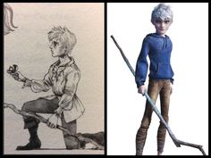 The School Master looks just the animated Jack Frost - The School For Good and Evil  I keep put having the thought of this!,