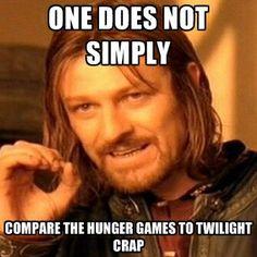 Thank you sir! :) / Hunger Games