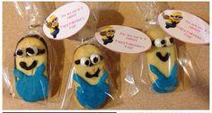 Minion valentines Milano cookies ❤️