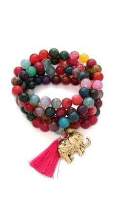 ONE by Lead Bead Tassel Necklace / Bracelet - ultimate KARMA bead throwback