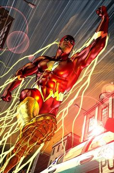 Comixz, Comics Art - The Flash, Flash Central, Dc Comics Comic Book Heroes, Marvel Heroes, Comic Books Art, Comic Art, Book Art, Flash Tv, The Flash, Flash Point, Flash Comics