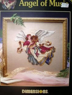Dimensions - Angel of Music - James Himsworth Cross Stitch Pattern Chart