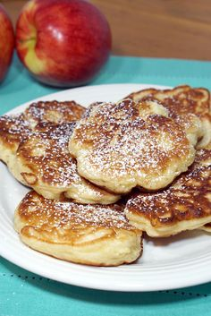 Crispy on the outside, sweet and fluffy on the inside, these Polish Apple Pancakes are sure to become a favorite fall breakfast treat! Fall Breakfast, Breakfast Dishes, Breakfast Recipes, Polish Breakfast, Apple Breakfast, Ma Baker, Polish Recipes, Polish Food, Pancakes And Waffles