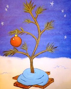 Join us for a Paint Nite event Tue Dec 2015 at 3610 Center St NE Salem, OR. Purchase your tickets online to reserve a fun night out! Charlie Brown Tree, Charlie Brown Christmas Tree, Peanuts Christmas, Christmas Cards, Merry Christmas, Winter Painting, Diy Painting, Christmas Paintings On Canvas, Christmas Artwork