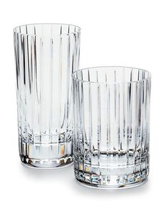 Baccarat High ball glasses. Love these