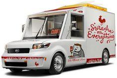Ekoshyun Blog: Sriracha on Everything Food Truck Concept