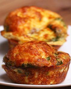 Sausage & Egg Breakfast Muffins: