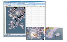 Amazing Japanese Paintings Created in Microsoft Excel