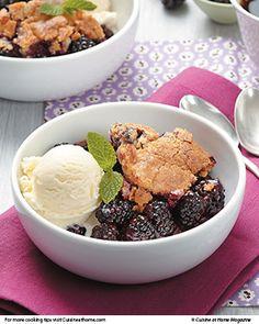 Blackberry Cobbler | Cuisine at home eRecipes
