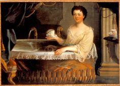 Juene Femoral au Bain, from the French School, beginning eighteenth century, Musee de Parfumerie, Fragonard-Paris.