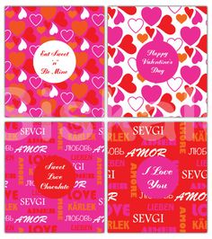 Candy Bar WRAPPERS Printable  Valentine's Day Party by Siskale