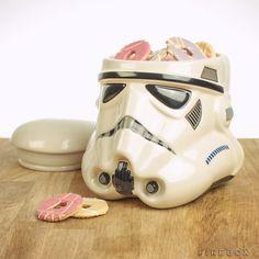 Storm trooper cookie jar #StarWars #Stormtrooper