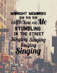#onedirection #one #direction #song #songs #midnightmemorier #city #newyork #NY