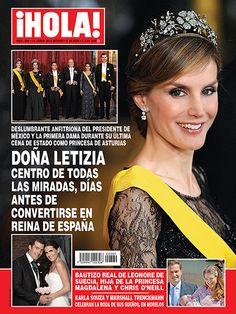 En ¡HOLA!: Doña Letizia, centro de todas las miradas antes de convertirse en reina de España