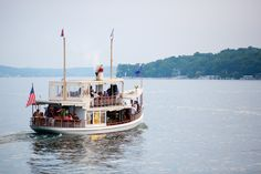The beautiful Steam Yacht Louise!