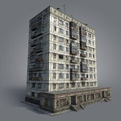 Russian House 01 Model available on Turbo Squid, the world's leading provider of digital models for visualization, films, television, and games. Zombies, Factory Architecture, Old Abandoned Houses, Fortification, Art Reference Poses, Model Homes, Exterior, Landscape, City