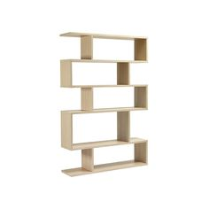 Content By Conran Balance Tall Shelf in Limed Oak - http://www.cimmermann.uk/shop-by-brand/content-by-conran/content-by-conran-balance-tall-shelving.html