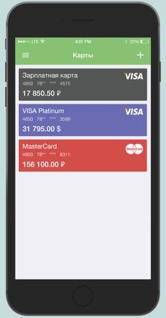 Bank App Concept on Behance Mobile App Ui, Mobile Web, Mobile App Design, Mobiles, Card Ui, Interactive Design, One Design, Behance, Apps