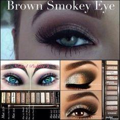 Brown Smokey Eye, Naked Palette