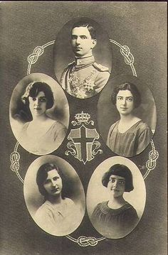 Italian History ~ The children of King Vittorio Emanuele III. of Italy