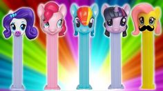 My Little Pony Finger Family Song ★ MLP PEZ Dispenser Daddy Finger ★ Father Finger Where Are You