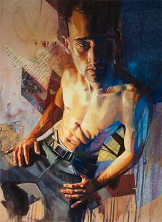Andrew Young Andrew Gareth Young His work currently focuses on lost and found adolescence. We are lost in our self-indulgen. Figurative Sculpture, Community Art, Painting People, Artist, Young Art, Male Art, Surrealism Painting, Portrait Painting, Portraiture Painting