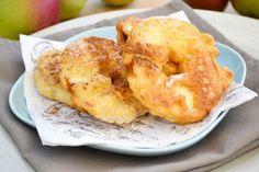 Ein herrliches und schnelles Süßspeisenrezept sind süße #Apfelkrapfen. Mit Zimt und Zucker eines meiner Lieblinge.