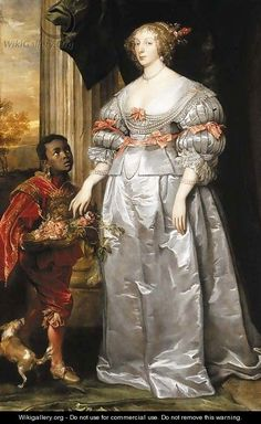 Portrait of a lady, full-length, in a white satin dress, a liveried page-boy holding a bowl of roses at her side - (after) Dyck, Sir Anthony van Anthony Van Dyck, Sir Anthony, Rococo Fashion, Fashion Art, Traditional Paintings, Traditional Art, White Satin Dress, Satin Dresses, Black History