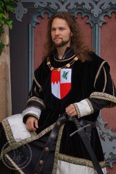 Renaissance Mode, Renaissance Fashion, Medieval Dress, German Fashion, Schneider, Rock, Abs, Saree, Knight Games