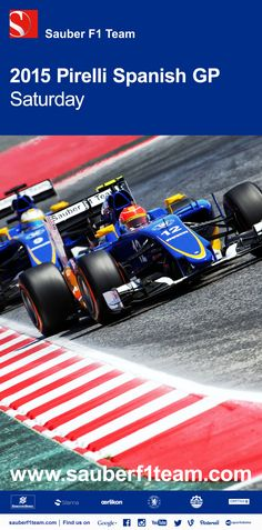 c8c4877eb3d4 P15 and P16 - qualifying for the Spanish Grand Prix did not produce the  results we. Motorsport NewsSpanish Grand PrixFormula ...