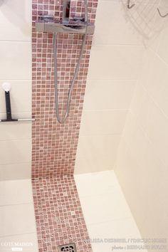 Salle de bain 3m2. Rénovation. Petit espace. Douche italienne ...