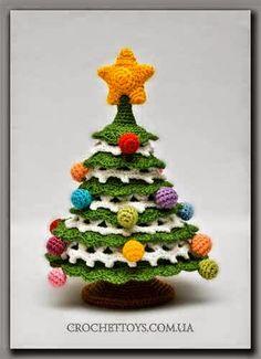 Todo crochet: Super colección de Pinos Navideños al crochet