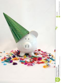 Party Pig - Download From Over 30 Million High Quality Stock Photos, Images, Vectors. Sign up for FREE today. Image: 2322258