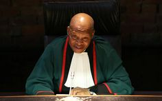 Mogoeng 'deeply concerned' by Speaker Mbete's comment on 'some judges'.  Chief Justice Mogoeng Mogoeng. Picture: REUTERS