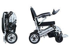 Stylish Foldawheel PW-1000XL with a thick & tuff Travel Bag. Heavy Duty Electric Powered Wheelchair foldable in 1 second. Wheelchair88 http://www.amazon.com/dp/B00PP0634W/ref=cm_sw_r_pi_dp_dj9Wub1QNZ4Z0