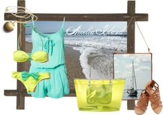 Beachwear inspired by Amelia Island, FL