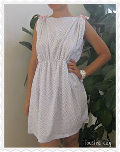 tousled day: DIY Pollow case night dress, perfect for the faeries Pillowcase Dress Pattern, Dress Sewing Patterns, Neue Outfits, Dress Tutorials, Diy Pillows, Couture, Diy Dress, Diy Clothing, Night Gown
