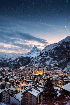 banshy:Zermatt Switzerland by Tom Archer