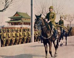 Japanese gerneral Iwane Matsui after the capture of nanking 1937