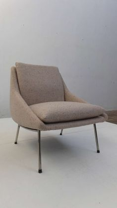 Joseph-André Motte; #800 Lounge Chair for Steiner, 1956.