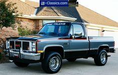 1987 Gmc Sierra Classic Gmc Trucks for Sale - Trucks Image Gallery Chevy Pickup Trucks, Gm Trucks, Chevy Pickups, Chevrolet Trucks, Cool Trucks, Chevy C10, Gmc 4x4, Truck Mods, Gmc Trucks For Sale