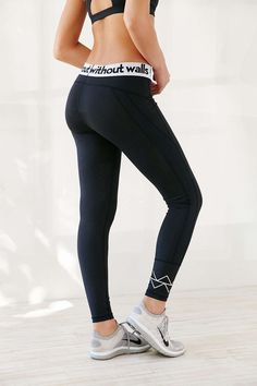 Without Walls Logo Elastic Tight