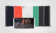 HTC phablet and a mid-range smartphone Desire line