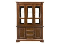 Bay City 2 Pc China Cabinet W Lighting China Cabinets