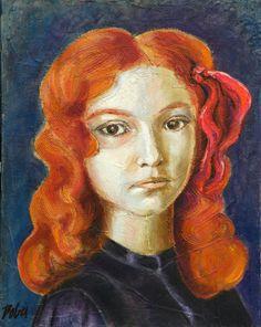 Art For Sale, Saatchi Art, Oil On Canvas, Original Paintings, Charlotte, Fine Art, Portrait, Artwork, Paintings