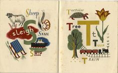 A Child's Alphabet by Grace Gabler. Puffin Books, 1945.
