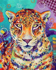 Celui d'une peinture originale unique créée par Sandra Trubin. Peint à l'acrylique peinture sur du papier épais. 16 x 20 / 40.6x50.8 cm Commissions sont disponibles! Si vous êtes intéressé par une peinture fait sur mesure de vos proches un (personne ou animal de compagnie) dans le