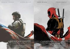 Coning soon: American Sniper/Canadian Mercenary